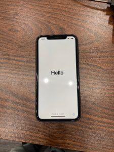 アイフォン OS初期化