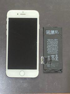 アイホン8 バッテリー交換【iPhone 8】 宮若市