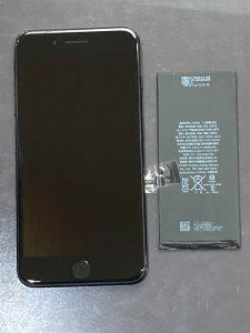 アイフォーン7プラス バッテリー交換【iPhone7+】 田川市